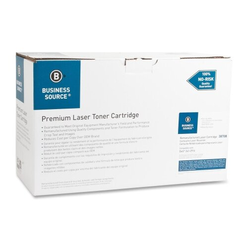 Business Source Toner Cartridge, 20,000 Page Yield, Black