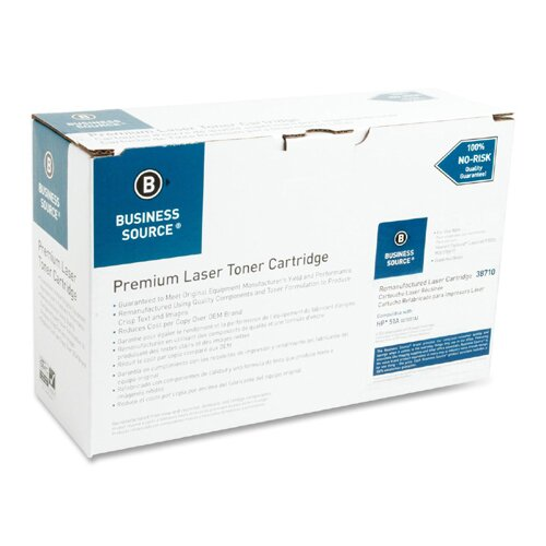 Business Source Toner Cartridge, 6500 Page Yield, Black