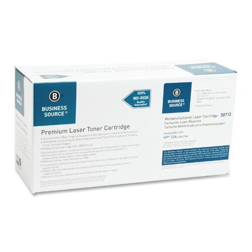 Business Source Toner Cartridge, 1500 Page Yield, Black