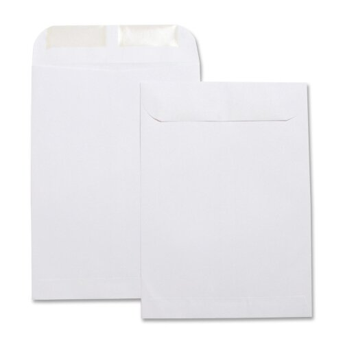 "Business Source Catalog Envelopes, Plain, 24Lbs, 7-1/2""x10-1/2"", 500 per Pack, White"