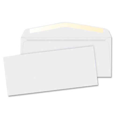"Business Source Business Envelopes,24 lb.,No. 10,4-1/8""x9-1/2"",500 per Box,White"