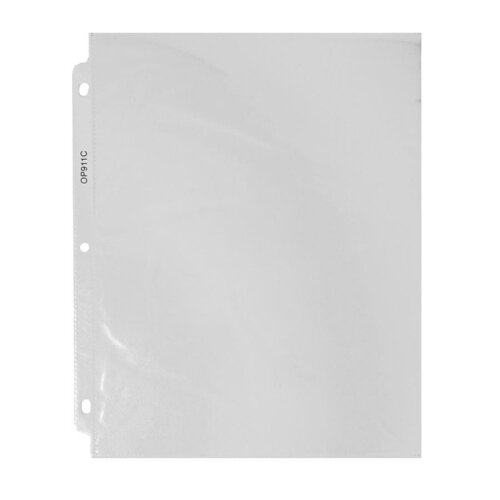 Quick Top And Side Loading Sheet Protectors Letter 50