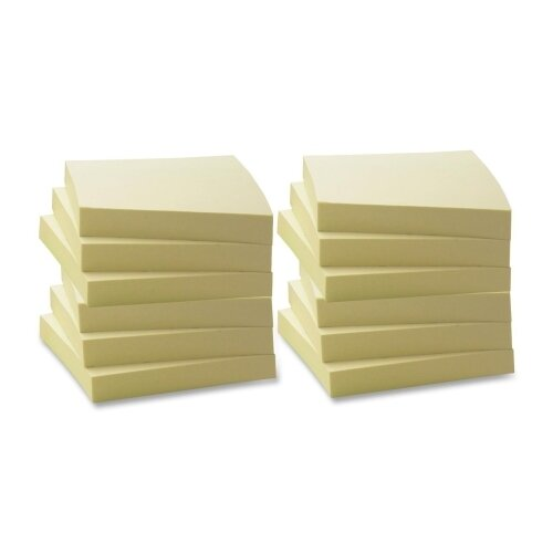 Business Source Adhesives Notes (Pack of 12)