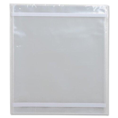 Business Source Vinyl File Pocket Folder (10 Per Box)