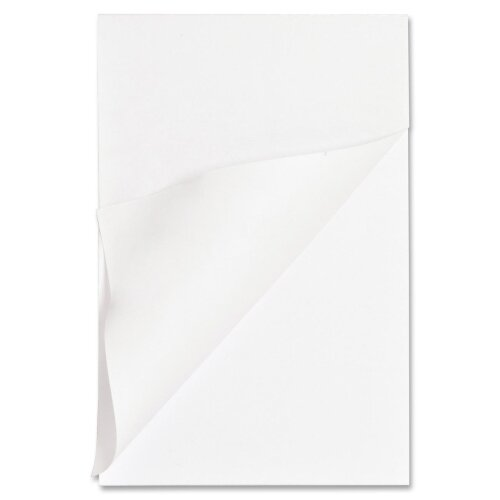 "Business Source Memo Pads, Unruled, 15lb., 4""x6"", 100 Sheets, White"