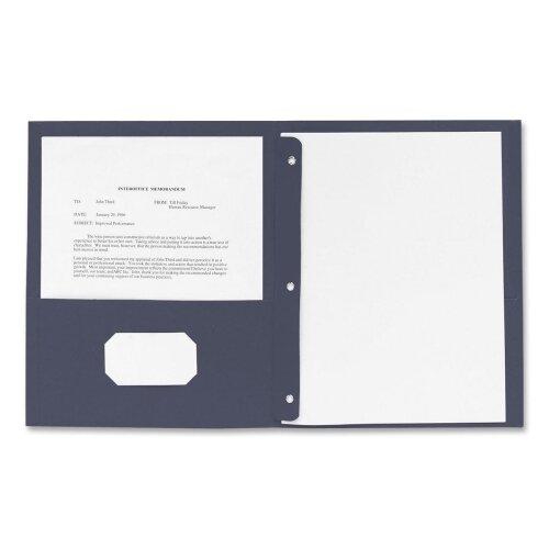 Business Source 2 Pocket Folder (25 Per Box)