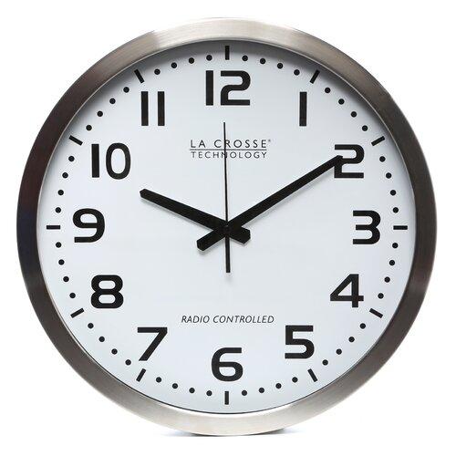 """La Crosse Technology 16"""" Atomic Analog Wall Clock"""