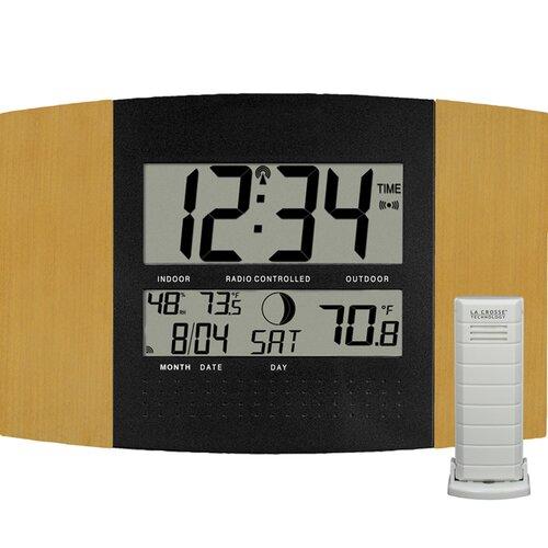 la crosse technology digital atomic wall clock reviews