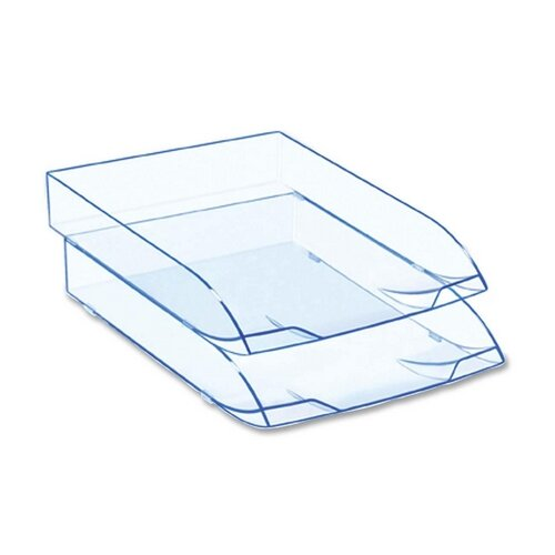 Cep Letter Tray, Stackable, Ice Blue