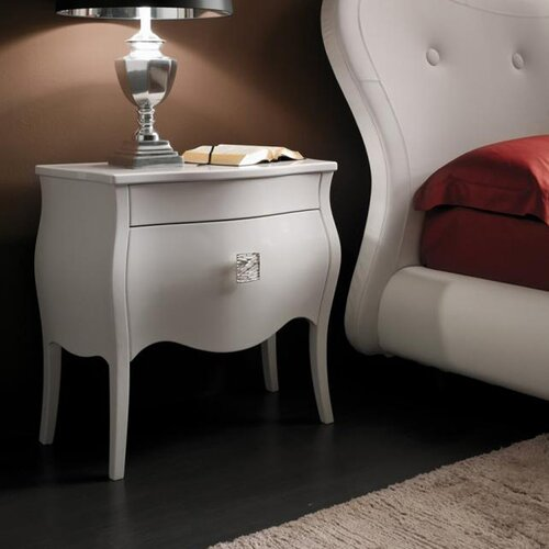 YumanMod Victoria 1 Drawer Nightstand