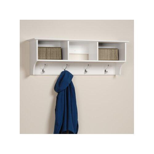 White Monterey Entryway Shelf