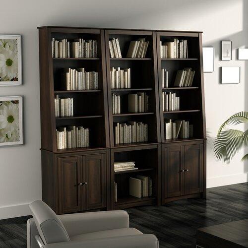 "Prepac Slant Back 80"" Bookcase"