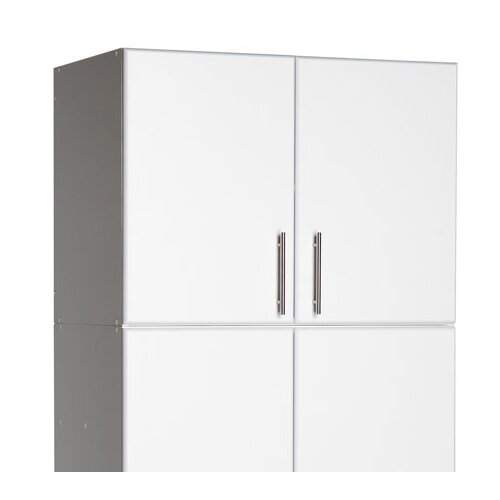 "Prepac Elite Storage 24"" H x 32"" W x 16"" D Garage/Laundry Room Topper & Wall Cabinet"