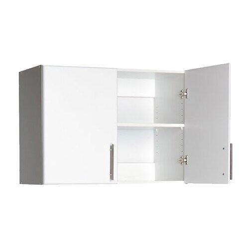 Prepac elite storage 24 h x 32 w x 16 d topper wall for Cheap kitchen units for utility room