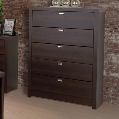 Prepac Designer Series 9 5 Drawer Chest