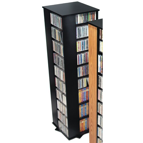 Deluxe Spinning 4-Sided Multimedia Revolving Tower