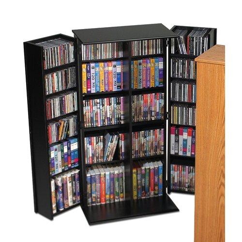 Deluxe Multimedia Storage Cabinet