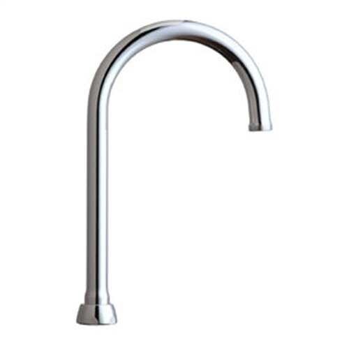 Chicago Faucets Rigid Swing Gooseneck Spout