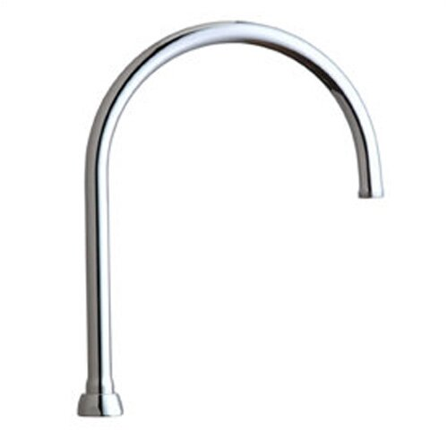 """Chicago Faucets Replacement Parts 11.25"""" Gooseneck Spout with Thread"""