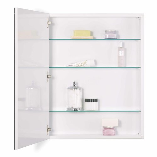 Broan 24 X 30 Recessed Beveled Edge Medicine Cabinet Reviews Wayfair