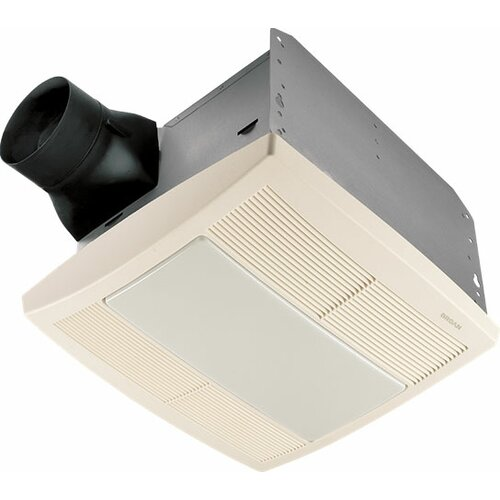 cfm energy star bathroom fan with heater and light reviews wayfair