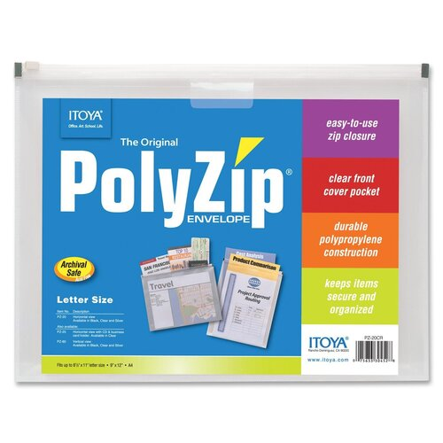Itoya of America, Ltd Polyzip Envelope