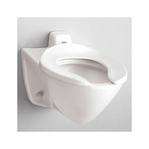 Floor Mounted 1 6 Gpf Elongated Toilet Bowl Only With Back