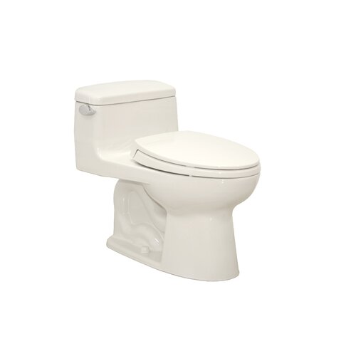 Toto Supreme® Eco 1.28 GPF Elongated 1 Piece Toilet with SoftClose Seat
