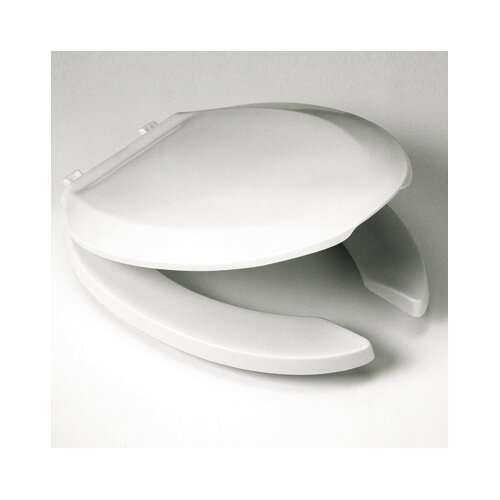 Elongated Commercial Elongated Toilet Seat and Lid