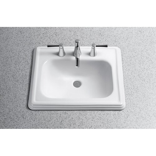 Promenade Ada Compliant Self Rimming Bathroom Sink Wayfair