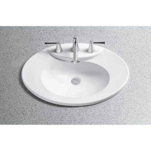 Toto Pacifica Ada Compliant Self Rimming Bathroom Sink Reviews Wayfair Supply
