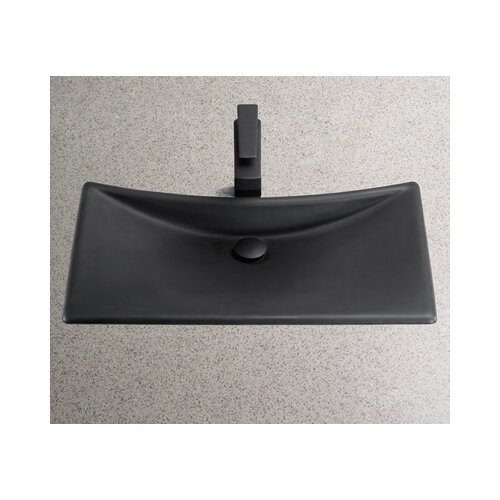 Waza Noir Cast Iron Bathroom Sink