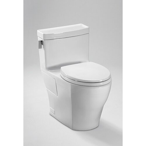 Toto Legato High Efficiency 1.28 GPF Elongated 1 Piece Toilet