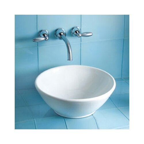 Larissa Vessel Bathroom Sink with SanaGloss Glazing