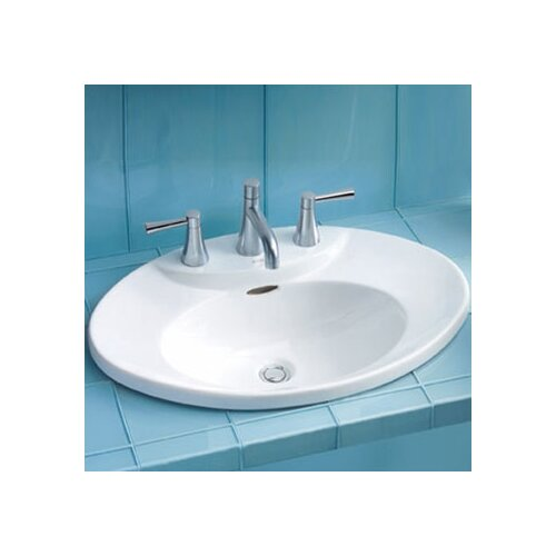 Toto Pacifica ADA Compliant Self Rimming Bathroom Sink