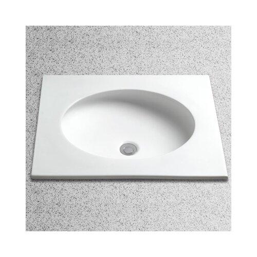 Curve Round Undercounter Bathroom Sink