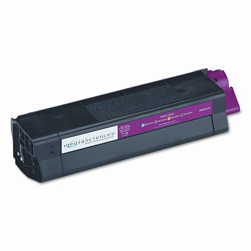 Media Sciences MS5000M (42127402) Toner Cartridge, High-Yield, Magenta