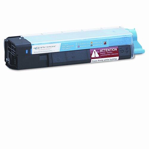 MSOK5855CHC (43324403) Toner Cartridge, High Yield, Cyan