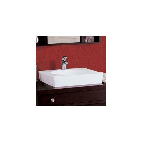 Classically Redefined Square Ceramic Vessel Sink