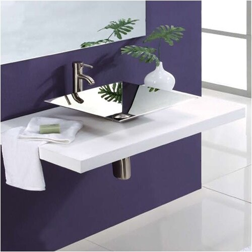 DecoLav Square Vessel Sink