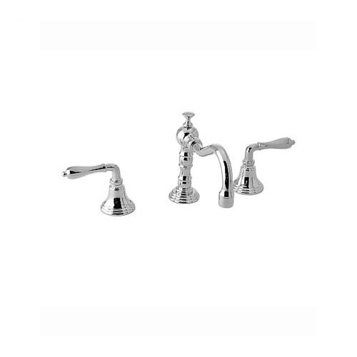 Victorian Widespread Bathroom Faucet with Double Lever Handles