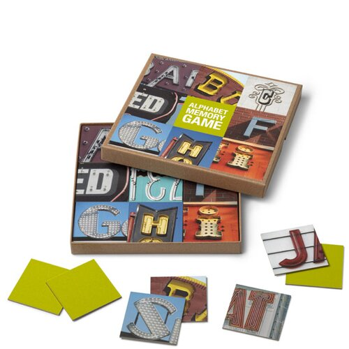 Bob's Your Uncle A-Z Alphabet Memory Game