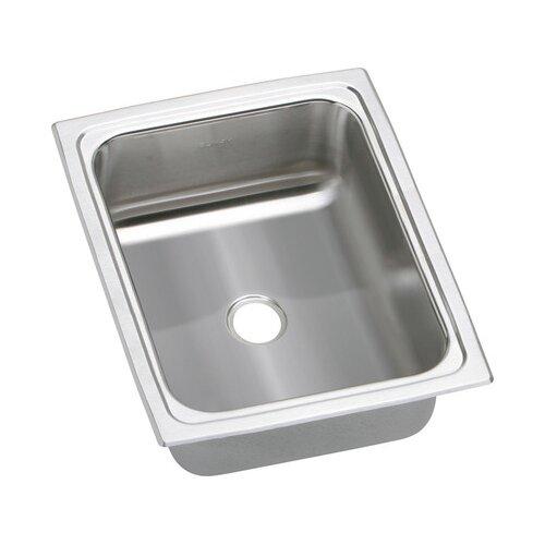 """Elkay Gourmet 12.5"""" x 15"""" Top Mount Kitchen Sink"""