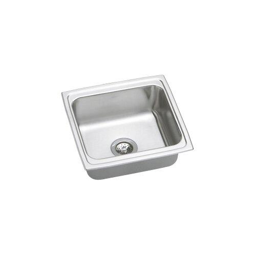 """Elkay Gourmet 19"""" x 18"""" Top Mount Kitchen Sink"""