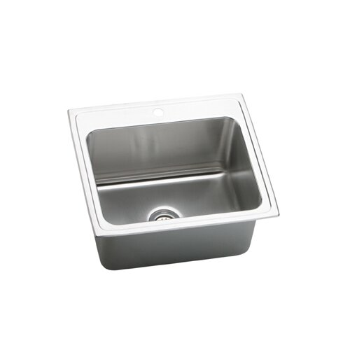 "Elkay Gourmet 25"" x 21.25"" Top Mount Kitchen Sink"