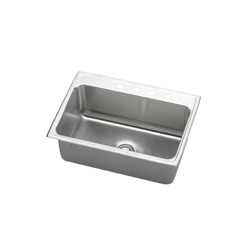 "Elkay Gourmet 31"" x 22"" x 10.13"" Top Mount Kitchen Sink"