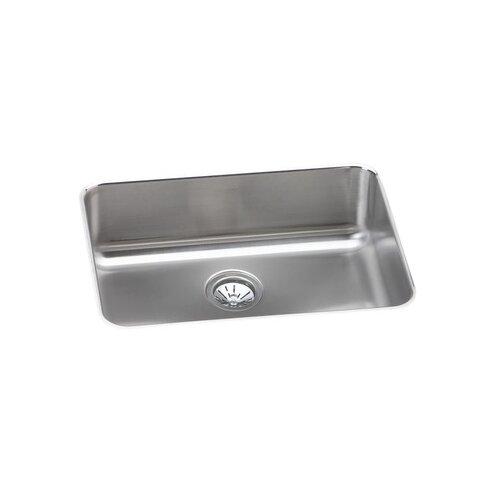 "Elkay Gourmet 25"" x 18.75"" Single Bowl Undermount Kitchen Sink"