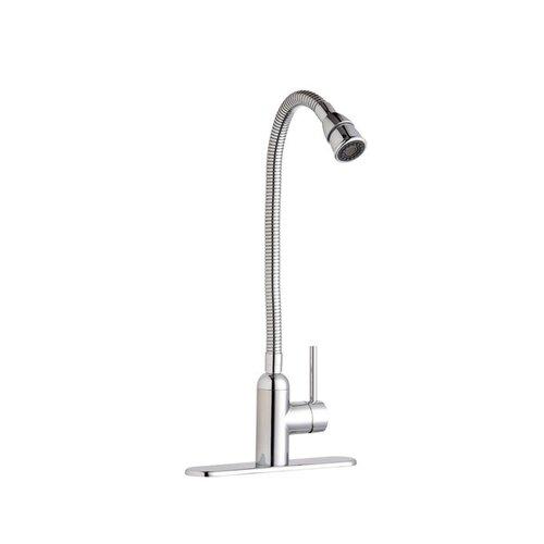 Deck Mount Pursuit Flexible Spout Laundry Faucet