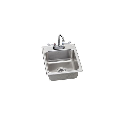 "Elkay 17"" x 20"" Kitchen Sink with Faucet"