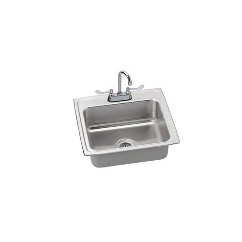 "Elkay 22"" x 19.5"" Kitchen Sink with Faucet"